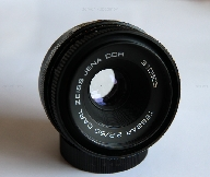 TESSAR CARL ZEISS JENA DDR 1:2.8  f=50mm M42 No. 310505